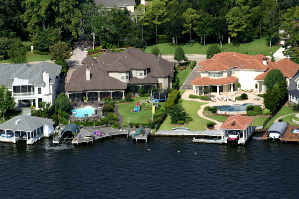 Aerial Tour Of Lake 187 The Palms Marina On Lake Conroe